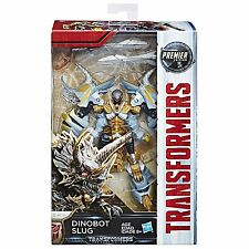 (P) HASBRO TRANSFORMERS MV5 THE LAST KNIGHT DELUXE DINOBOT SLUG PREMIER EDITION
