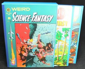 The Complete Weird Science-Fantasy HC Set w/ Slipcase - EC Comics Library - Nice