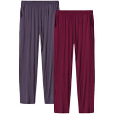 Womens Soft Modal Pajama Sleepwear Lounge Pants with Pocket Yoga Casual Indoor