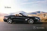Mercedes SL Prospekt 2011 6/11 Autoprospekt brochure 300 350 500 600 63 AMG
