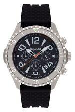Gigandet Herren Armbanduhr Aquazone Quarz Chronograph schwarz G23-002