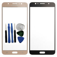 Por Samsung Galaxy J7 2016 Front Outer Vaso Pantalla Lente Oro SM J710F + Tools