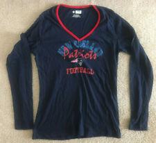 New listing New England Patriots Women's Long Sleeve Top Football NFL Team Apparel EUC Large
