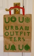 URBAN OUTFITTERS ~ SMALL STRONG BROWN PAPER SHOPPER/ GIFT BAG ~ CHRISTMAS ~ NEW