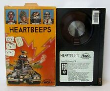HEARTBEEPS BETA BETAMAX VIDEO CASSETTE TAPE