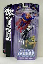 Justice League Unlimited 3 Pack Superman Dr Light Aquaman Purple Card S189-22