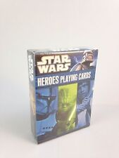 Cartamundi Star Wars Playing Cards - HEROES from All 6 Films ~NEW/Ships FREE!~