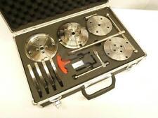 """Backenfutter System 4,5"""" 115 mm Vierbackenfutter Set Spannfutter f Drechselbank"""