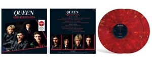 Queen Greatest Hits Ruby red vinyl (Target exclusive) vinyle rouge rubis USA
