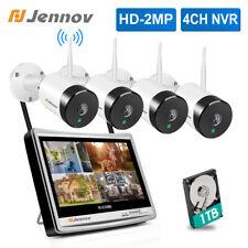 Outdoor Home Security Camera System 1080P Pan Tilt Control Wifi 2Way Audio Us Ir