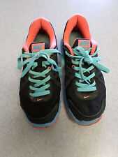"""Nike """"Revolution 2"""" Black, Hot Pink and Blue Running Shoes. Women's 8.5 (eur 40)"""