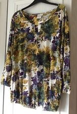 NEXT Ladies 3/4 Length Sleeve Floral Maternity Top Size 16 / EUR 44 - BNWT