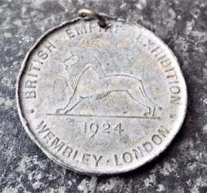 British Empire Exhibition Wembley Antique 1924 Gibbs Dentifrice Medal Medallion