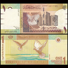 SD SUDN 1 Pound, 2006, P-64, UNC Africa Banknotes