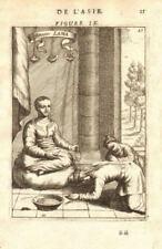 TIBET. Grand (Dalai) Lama probably Ngawang Lobsang Gyatso. Buddhism. MALLET 1683