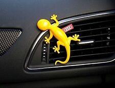 ORIGINAL AUDI Diffuseur de parfum, parfum Gecko / , jaune, Note Tropical Fruits