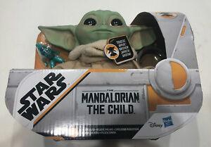 """The Mandalorian The Child (Grogu) 7"""" Talking Plush HASBRO Star Wars Baby Yoda"""