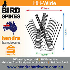 Bird Spikes WIDE Base SS 10 METERS - BULK BUY - Fast and Free Postage