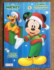 Disney Mickey Mouse Holiday Jumbo Coloring and Activity Book Merry Mickey! New