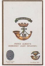Prince Albert's Somerset Light Infantry, G & P 1678 Postcard, B284