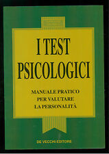 VIGNOLA GIOVANNI I TEST PSICOLOGICI DE VECCHI 1994