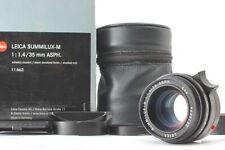 [Opt Mint in Box] Leica Summilux M 35mm F1.4 ASPH E46 Black 6bit Lens from Japan