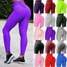 Women Anti-Cellulite Yoga Pants High Waist Butt Lift Leggings Workout Fitness OO