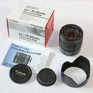 Canon EF-S 15-85 mm f/3.5-5,6 IS USM - Objektiv