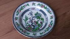 VINTAGE 1930s Midwinter cerchiati Zuppa Pasta Ciotola Indian Tree Pattern in buonissima condizione