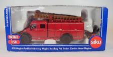 Siku 1/50 Super Classic No. 4115 Magirus Tanklöschfahrzeug Feuerwehr OVP #1156