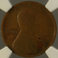 1909-S VDB *Key Date* Lincoln Wheat Cent Penny 1c NGC F-12 Fine