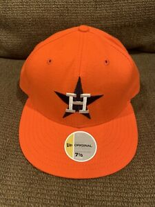 HOUSTON ASTROS NEW ERA FITTED 7 1/2 Vintage 2003 COOPERSTOWN COLLECTION