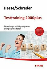 Hesse/Schrader: Testtraining 2000plus + ActiveBook: Eins... | Buch | Zustand gut
