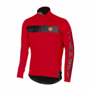 Castelli Raddoppia Thermal Winter Cycling JACKET MEN'S RED 4516514