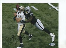 3c5393dfa BRUCE IRVIN SIGNED COLOR RAIDERS 8X10 BECKETT AUTHENTICATED BAS C78074