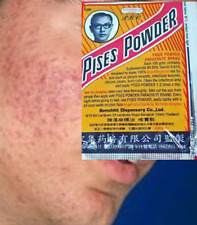 Pises Powder 3G X 5Pcs Parachute Acne Tretment Anti Bacterial Pimple
