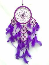 Dreamcatcher, New Purple with Black beads, comes in 5 great colours