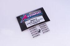 Atomic RC #ar-074 Kyosho mini-z King Pin C-clips (2 unid.) nylon F. mr-03, mr-02