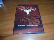 The History of Texas Longhorns Football (DVD,Full Frame  2006) NEW