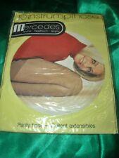 Vintage 70er J. Mercedes Sheer Tights 38-40 Pearl 20 Denier Collant Tights Ovp