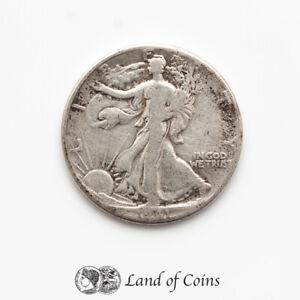 UNITED STATES: 1 x Half US Dollar Walking Liberty 1941 Silver 0.900 Coin.