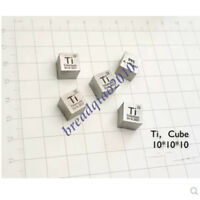 New 99.5% High Purity Titanium Ti 10mm Metal Carved Element Periodic Table