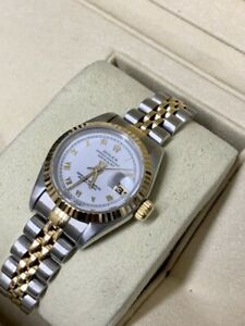 Rolex Lady-Datejust 69173 Steel Automatic Watch, 1994 No Holes