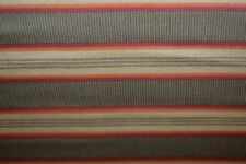 "RALPH LAUREN Cape Catherine Tobacco Stripe FABRIC ~ 120"" X 96"""
