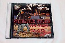 Square Free MEGA RARE CD Rap Hip Hop We Takin Da City MINT Free Shipping