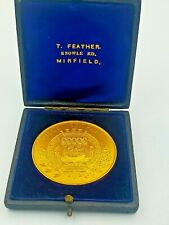 More details for 1899 paris industrial exhibitor (france) cased medal / medallion - thos feather