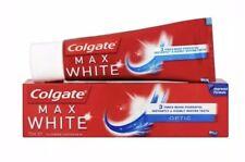3x Colgate Max White OPTIC Clinically  Whitening Toothpaste 75ml
