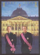 Belgium - Sheet - 2003 - COB 105 - SCOTT 1969 - Baudouin and Albert II - Used