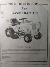 Murray Riding Lawn Tractor & Mower Deck Implement Owners Manual Craftsman