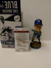 2014 Tommy lasorda Signed bobblehead Los Angeles Dodgers Hall Of Fame baseball